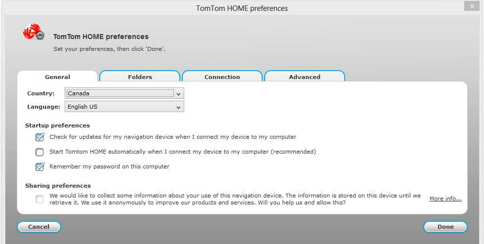 Home2 not loading when xxl is connected to my computer | TomTom Forums