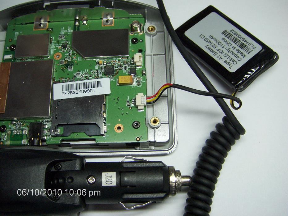 One XL hard wire car charger | TomTom Forums Hard Wiring A Circuit Board on