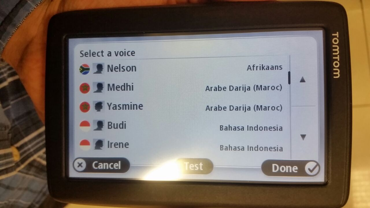 Changing the language in tomtom device | TomTom Forums